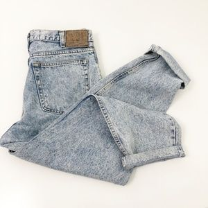Vintage 90's Acid Wash Arizona Mom Jeans